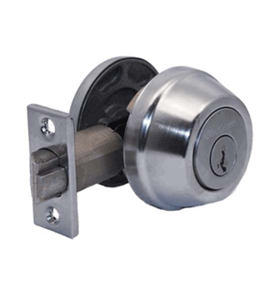 Gatelatch Single Cylinder Deadbolt Kwikset 598 S