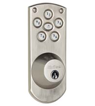 Smart Code Keyless Touch Pad Lock, Kwikset 907