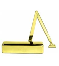 LCN P4040XP  Polished Brass Super Smoothee Grade 1  Door Closer