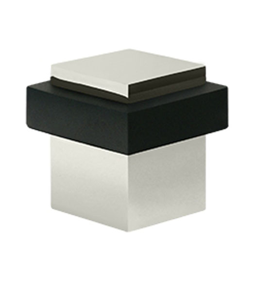 Solid Brass Modern Square Door Stop Doorware Com