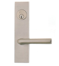 Contemporary Lever Mortise Lockset, Omnia 4368