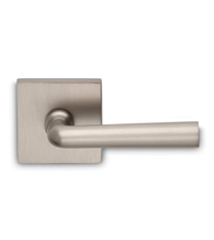 Chic Solid Brass Lever With Square Rose, Omnia 368S/00