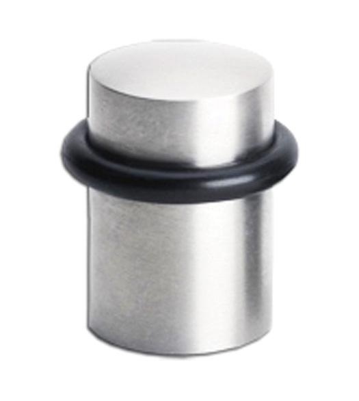 Elegant Solid Brass 1 3/4 Inch Modern Door Stop, Omnia 7000