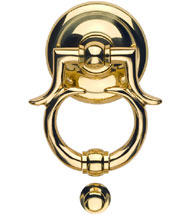 Solid Brass Monte Carlo Door Knocker