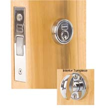 Traditional Mortise Deadbolt, Omnia 041