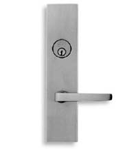 Contemporary Lever Mortise Lockset, Omnia 12036