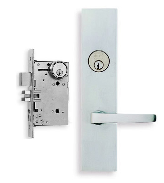 Contemporary Lever Mortise Lockset