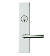 Contemporary Lever Mortise Lockset, Omnia 12368
