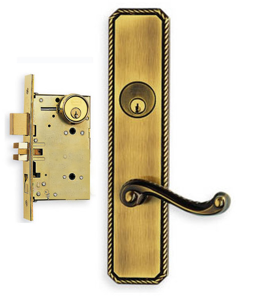 Omnia 24570, Rope Lever Mortise Lock