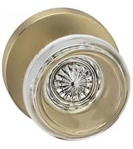 Modern Classical Glass Door Knob, Omnia 566MD