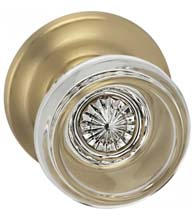Traditional Classical Glass Door Knob, Omnia 566TD