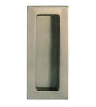 Contemporary Rectangular Flush Pull, Omnia 653