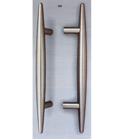 Retro Satin Stainless Steel Door Handle