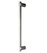 17-Inch Modern Rectangular Brushed Stainless Steel  Appliance Pull Omnia 722/400-US32D