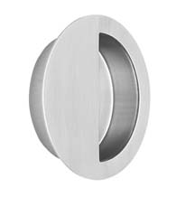 Oversized Round Stainless Steel Cup Pull, Omnia 7507