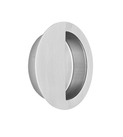 Oversized Round Stainless Steel Cup Pull Doorware Com