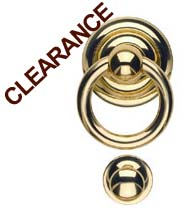 Solid Brass Ring Door Knocker