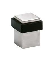 Square Stainless Steel Door Stop, Omnia 7620