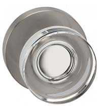 Contemporary Clear Door Knob, Omnia 936MD