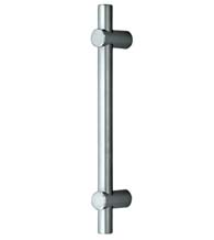 20-Inch Slim Line Round Brushed Stainless Steel Appliance Pull, Omnia 9458/448-US32D
