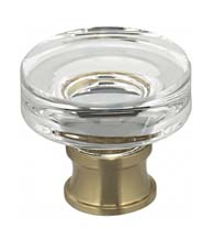 Contemporary Clear Cabinet Knob, Omnia 9936/32