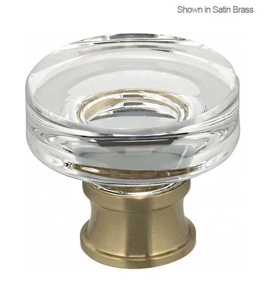 Contemporary Clear Cabinet Knobs