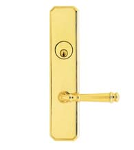 Classic 904 Lever Entry Lockset, Omnia D11904
