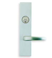 Contemporary Entry Door Lever Lockset, Omnia D12762