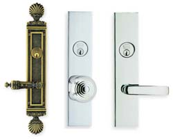 Omnia Entry Door Tube Locksets