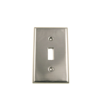 Single Light Switch Plate Rusticware 782