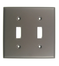 Double Light Switch Plate Rusticware 785