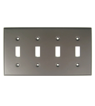 Quad Switch Plate Rusticware 790