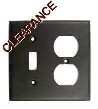 Switch and Receptacle Plate Rusticware 791-ORB