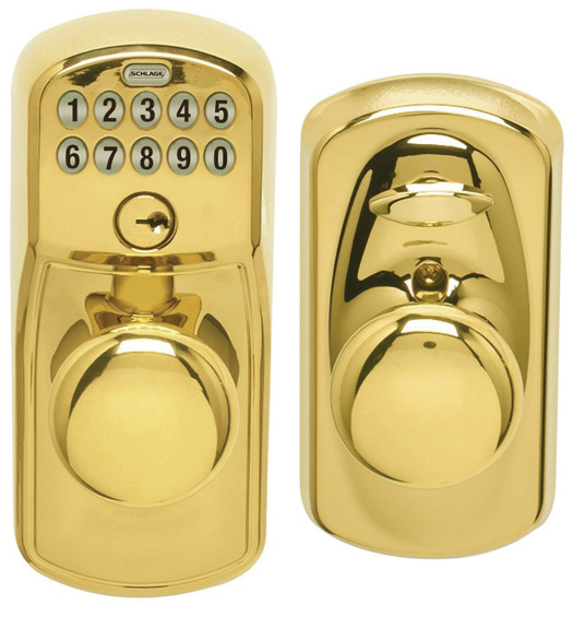 Plymouth Keypad Entry Flex Lock Matching Knob Schlage