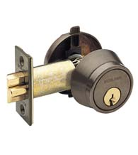 Gate Lock Single Cylinder, Schlage B250PD