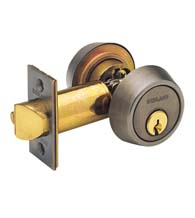 Gate Lock Double Cylinder, Schlage B252PD