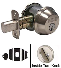 Single Cylinder Thick Door Deadbolt, Schlage B60/61073