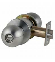 Orbit Grade 1 Commercial Keyed Door Knob, Schlage D-ORB