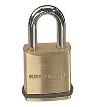 Schlage Kryptonite Padlock with 5/16 Diameter Shackle