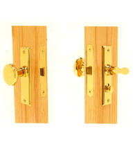 Screen Door Mortise Lock Set, Deltana SDML334