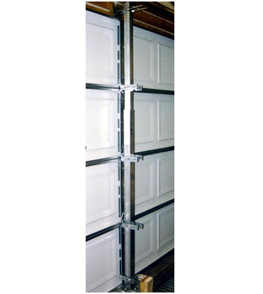 Secure Door Commercial 12 Foot Garage Door Hurricane Brace