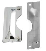 Security Latch Guard Plates