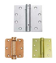 Single Acting Spring Hinges