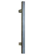 18 Inch Modern Square Stainless Steel Appliance Pull, First Impressions SQDP/18-US32D