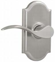 Bordeau Door Lever With Premiere Rose, Weslock 1700U
