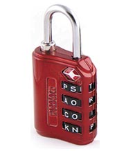 WordLock Combination Luggage Padlocks