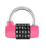 WordLock Combination Padlocks