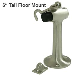 6 inch tall door stops