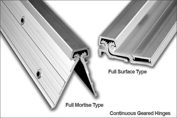 Door Hinge Guide Continuous Gear Hinges Doorware Com