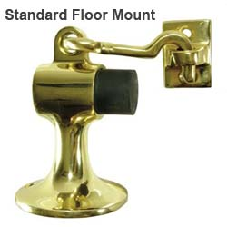 standard floor hook door stops